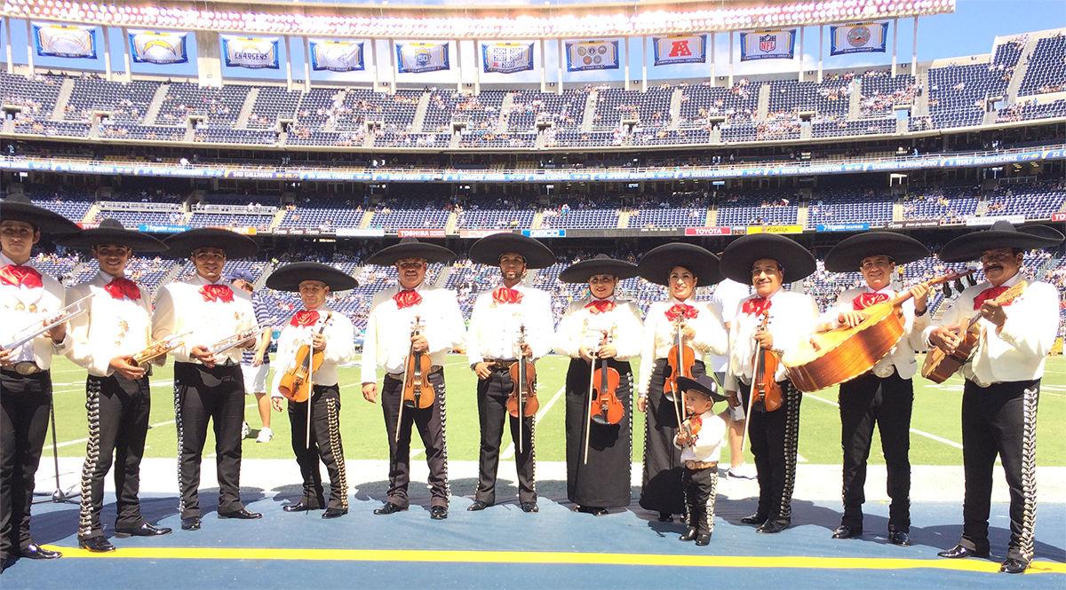 Mariachi Real Featured On Chargers Com Mariachireal Com